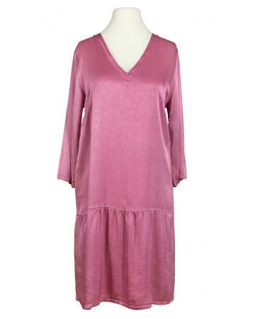Kleid mit Seide, beere (Bild 1)
