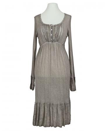 Kleid mit Seide, braun