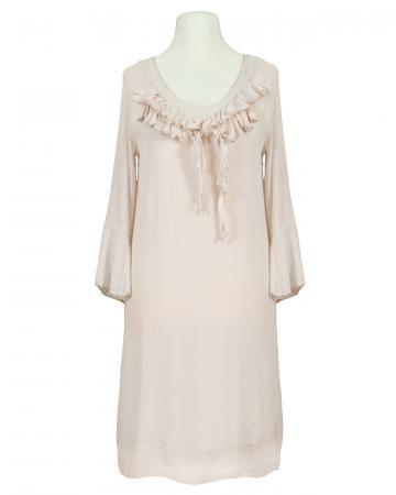 Kleid mit Seide, rosa