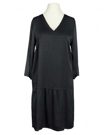Kleid mit Seide, schwarz (Bild 1)