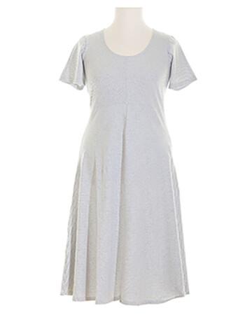 Kleid Streifen, weiss