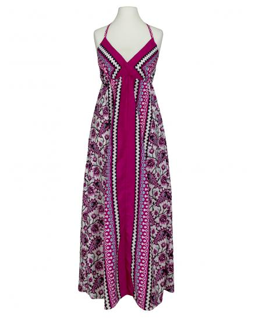 Kleid Print, fuchsia