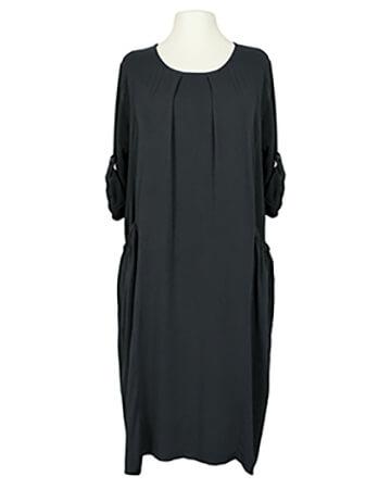 Kleid Viskose, schwarz (Bild 1)