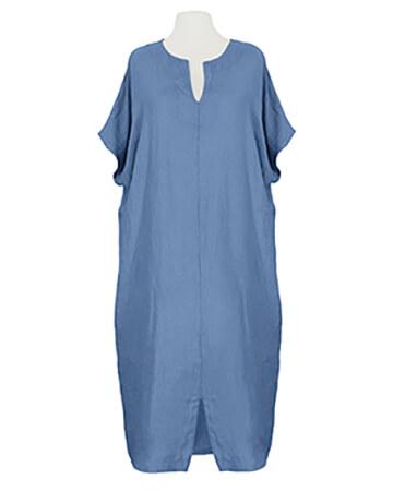 Leinenkleid Kaftan Stil, blau