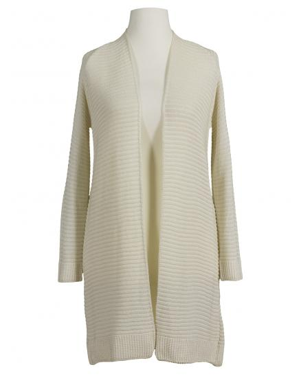 Long Strickjacke, beige (Bild 1)