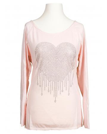 Shirt Herz, rosa