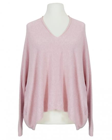 Oversize Pullover, rosa