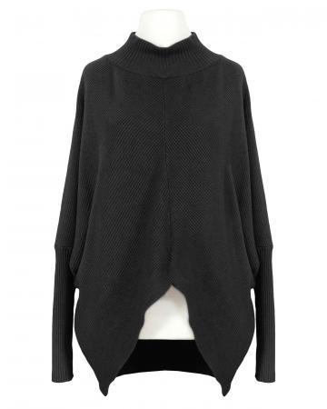Pullover Ballonschnitt, schwarz