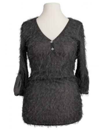 Pullover Stichelhaar, grau