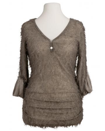 Pullover Stichelhaar, schlamm (Bild 1)