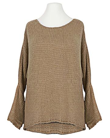 Pullover Grobstrick, camel