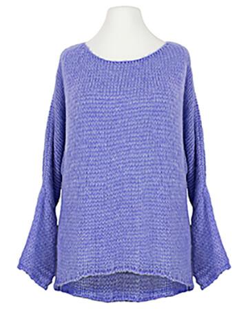 Pullover Grobstrick, lavendelblau