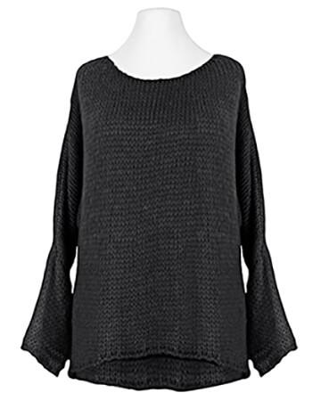 Pullover Grobstrick, schwarz