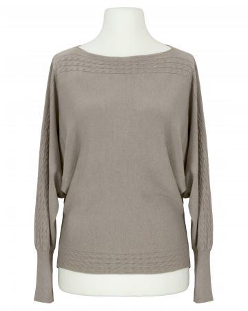 Pullover mit Cashmere, braun