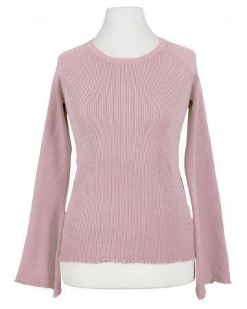 Pullover Rippstrick, rosa