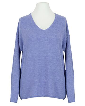 Pullover V-Ausschnitt, lavendelblau