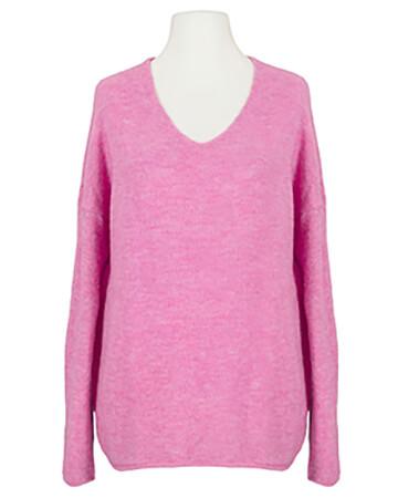 Pullover V-Ausschnitt, pink