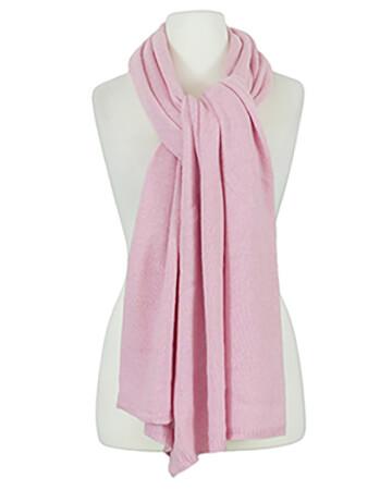 Schal mit Kaschmir, rosa
