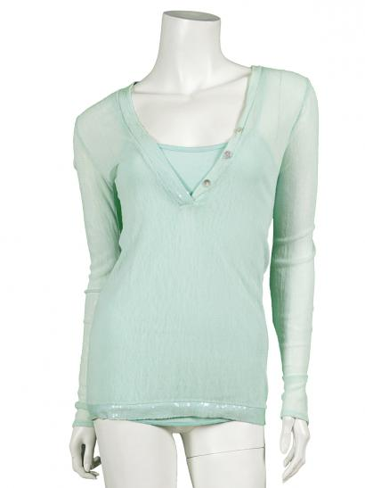 Shirt 2-tlg., mint