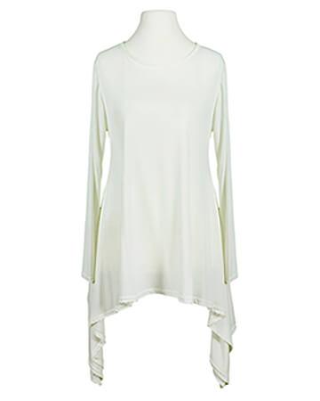 Shirt A-Linie, ecru