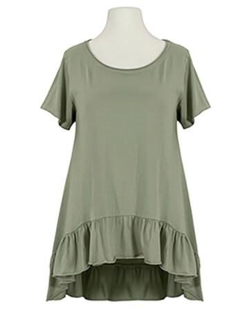 Shirt A-Linie, khaki