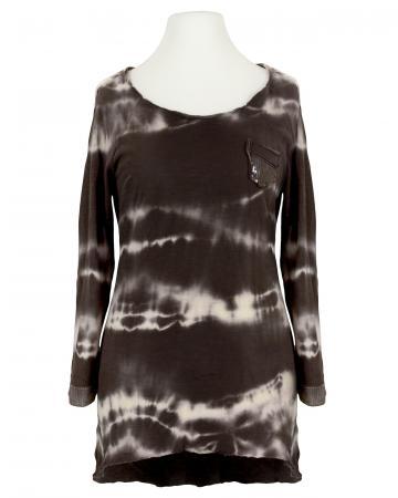 Shirt Batik, braun