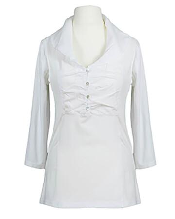 Shirt Baumwolle, weiss (Bild 1)