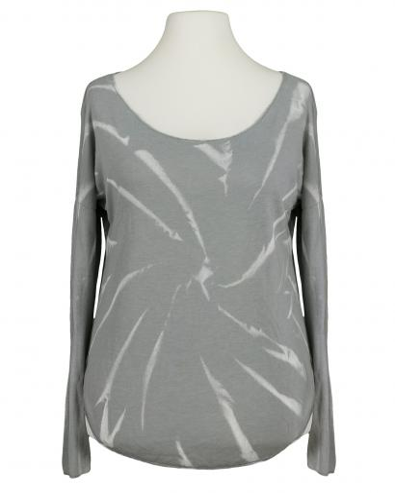 Shirt Feinstrick, grau (Bild 1)