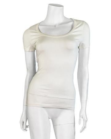 Shirt kurzarm, ecru (Bild 1)