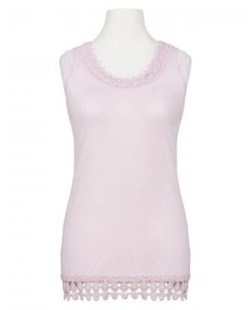 Shirt mit Spitze, rosa (Bild 1)