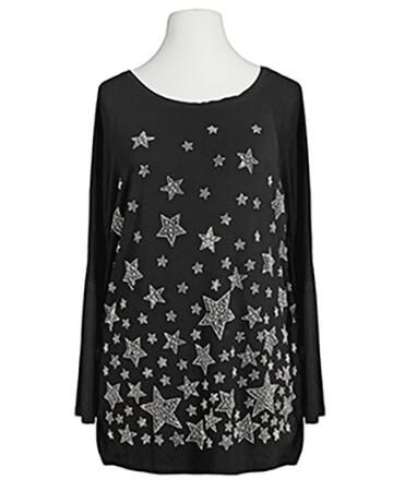 Shirt Sterne, schwarz (Bild 1)