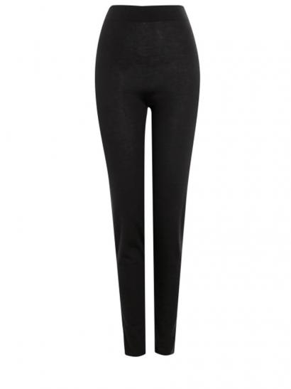 Strick Leggings, schwarz