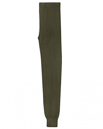 Strick Leggings mit Viskose, khaki