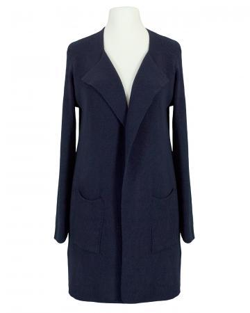 Strickhülle Baumwolle, blau