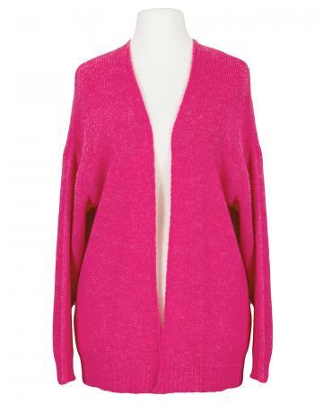 Strickhülle mit Mohair, pink