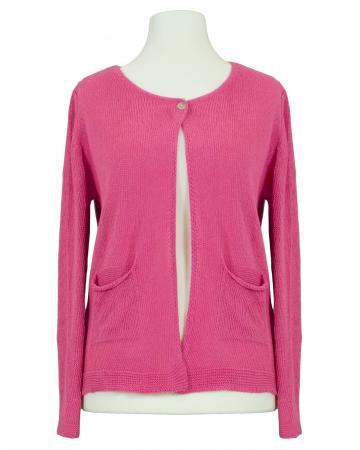 Strickjacke Baumwolle, pink