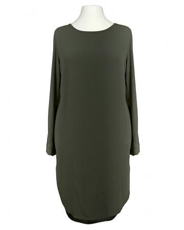 Tunika Kleid Blusenstil, oliv