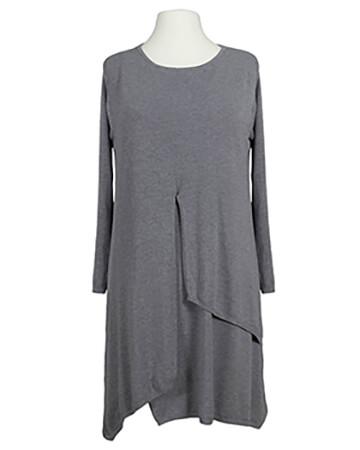 Tunika Kleid Lagenlook, grau (Bild 1)