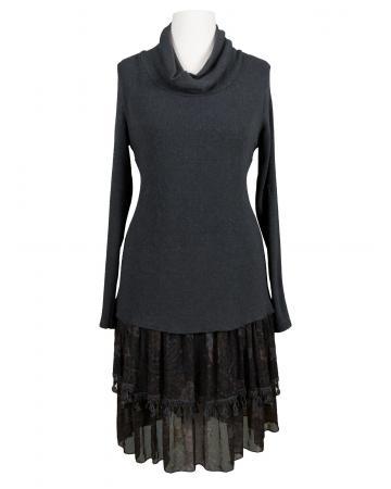 Tunika Kleid mit Seide, grau (Bild 1)