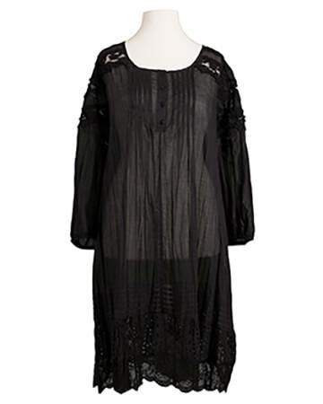 Tunika Baumwolle, schwarz