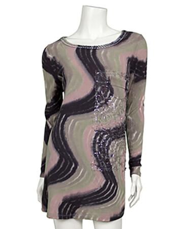 Shirt Feinstrick, multicolor