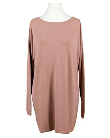 Tunika Pullover mit Cashmere, rosa