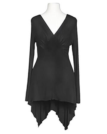 Tunika Shirt, schwarz (Bild 1)