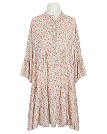 Tunikakleid Print, rosa