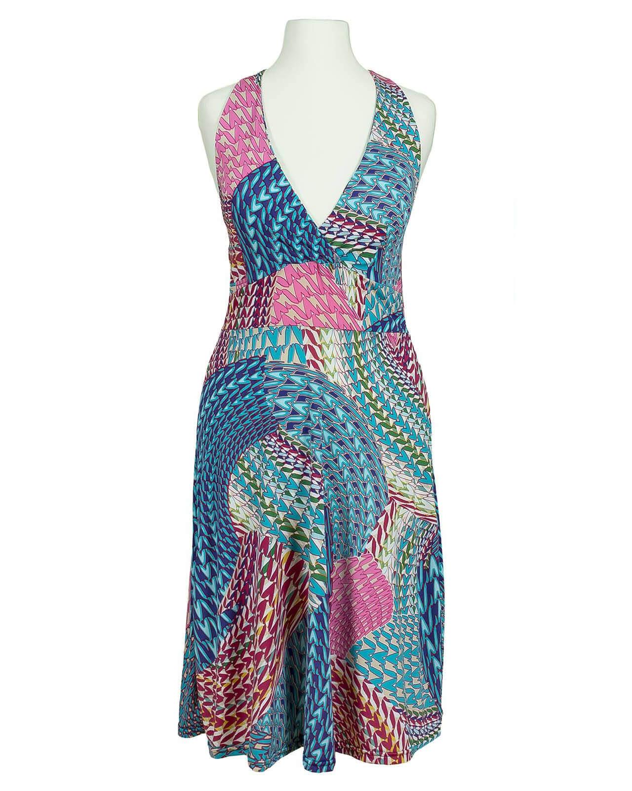 Neckholder Kleid, multicolor | fashion made in france
