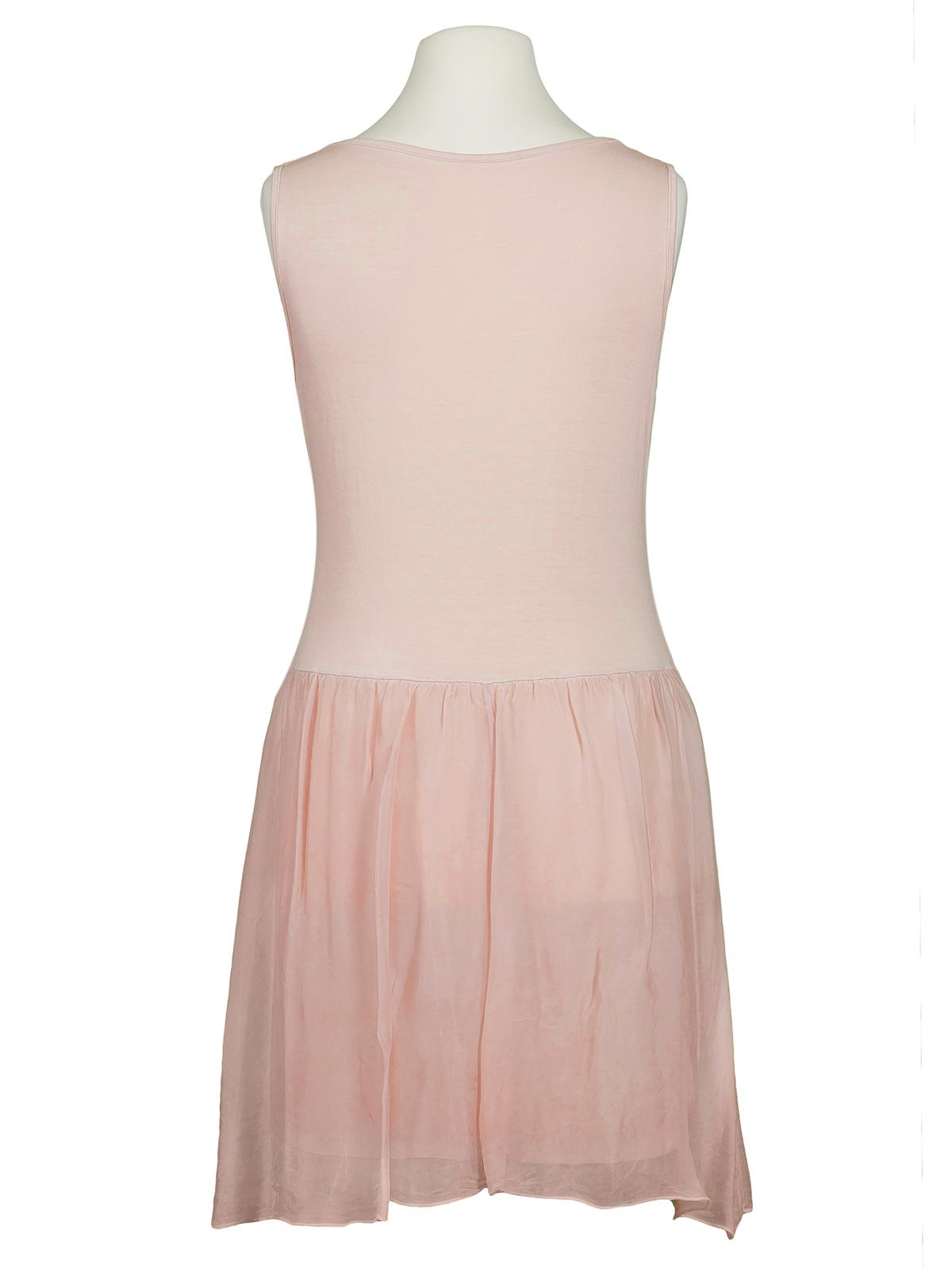 Kleid seide rosa