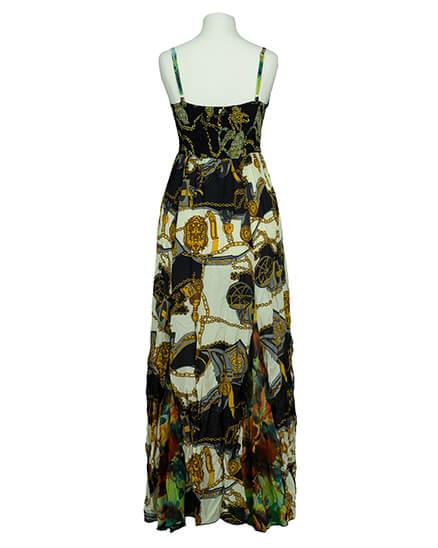 Chiffon Kleid lang, multicolor   101 Idees