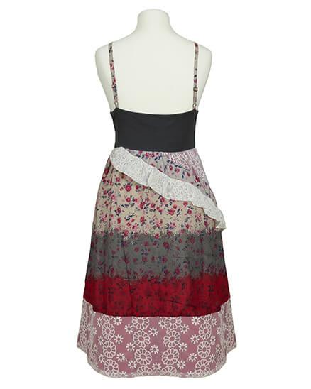 Kleid mit Spitze, multicolor   Lulu H
