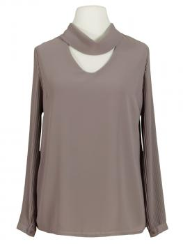 Chiffonbluse, coffee von Made in Italy