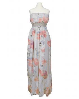 Bandeau Kleid mit Seide, grau von Diana